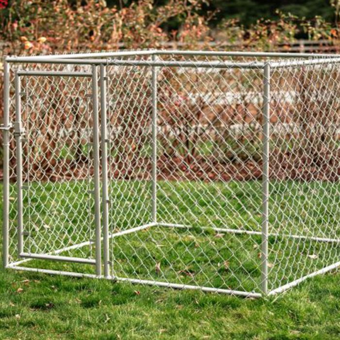 Lucky Dog® 5' x 5' Chain Link Kennel DIY Kit Studio