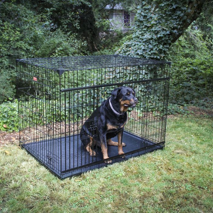 "Lucky Dog 54"" Slyder Crate w/ Sliding Side Door"