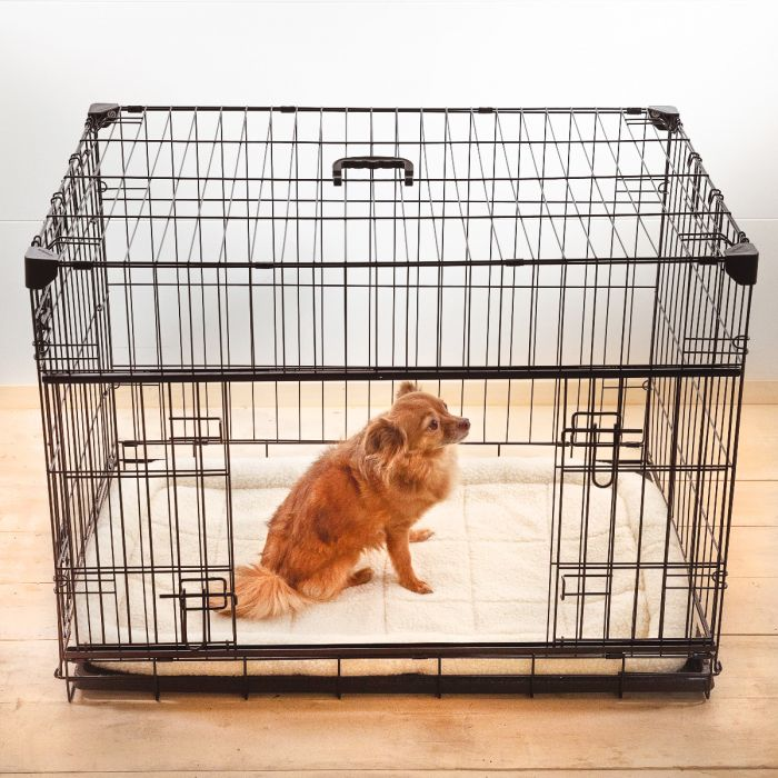 "Slyder Crate w/ Sliding Side Door, 22""-48'' 