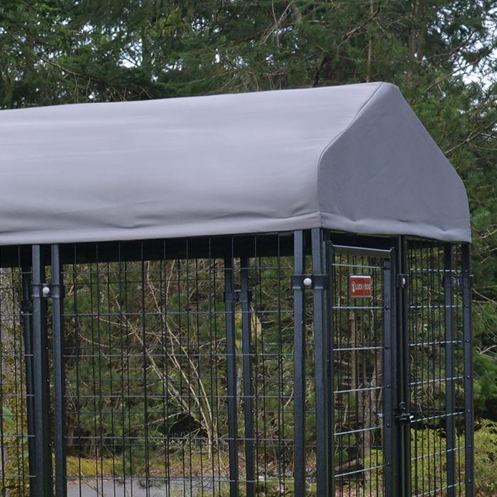 Canopy Villa Kennel Cover 4'x8'| Lucky Dog