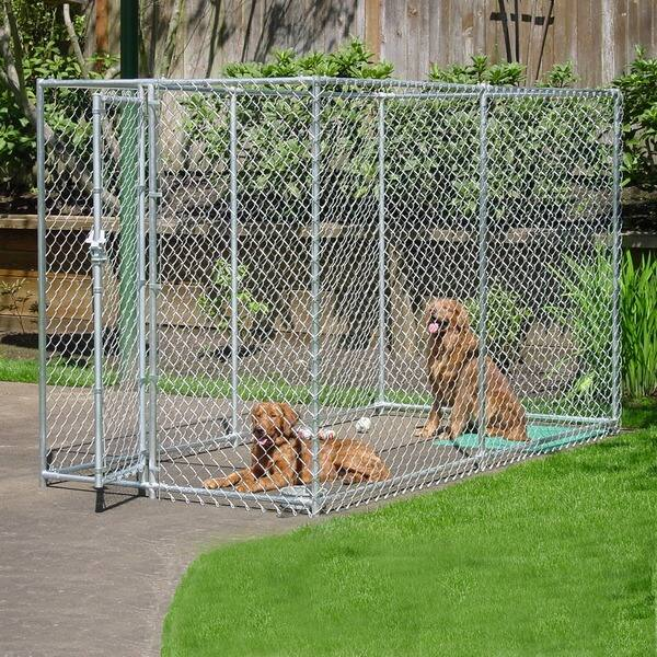 Lucky Dog Chain Link Kennel